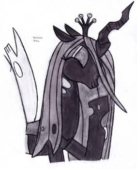 Amused Queen Chrysalis