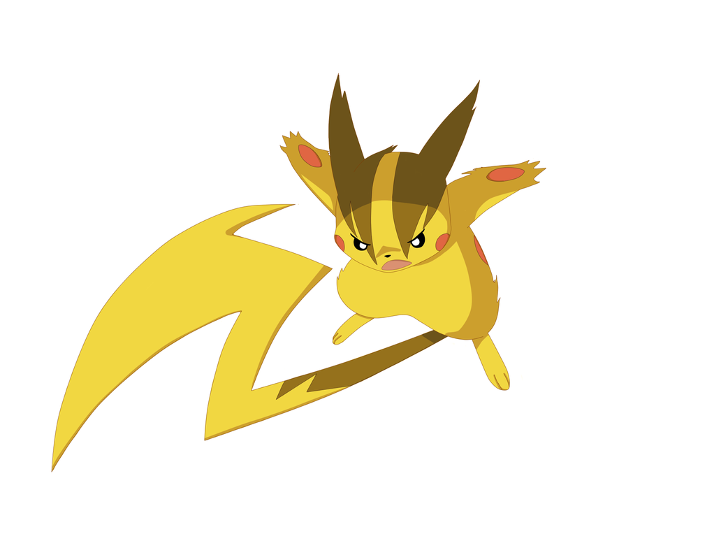 Mega pikachu kuro 39 s version by kuro dachi on deviantart - Pokemon x raichu mega evolution ...