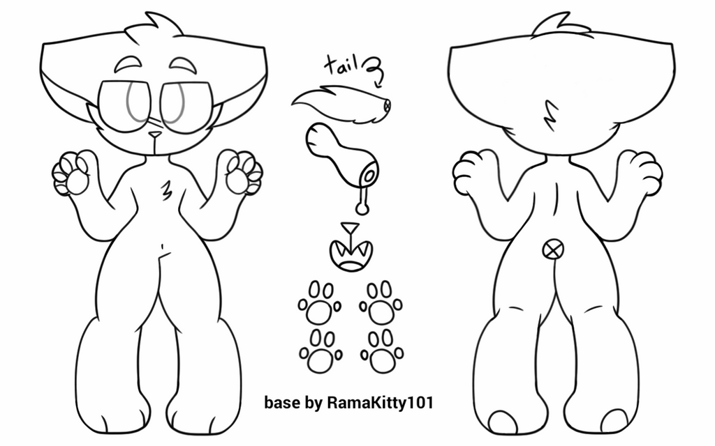 how to draw furry characters