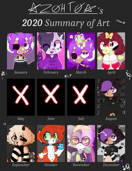 + 2k20 Art Summary +