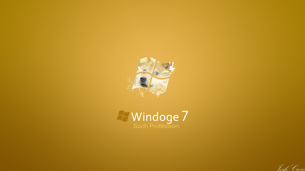 Windoge Wallpaper Windoge 7 by JOSHii-Crew