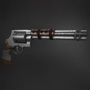 Fallout-Style Smith and Wesson Revolver