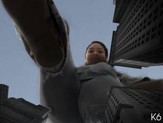 Towering Sabrina by k6gts