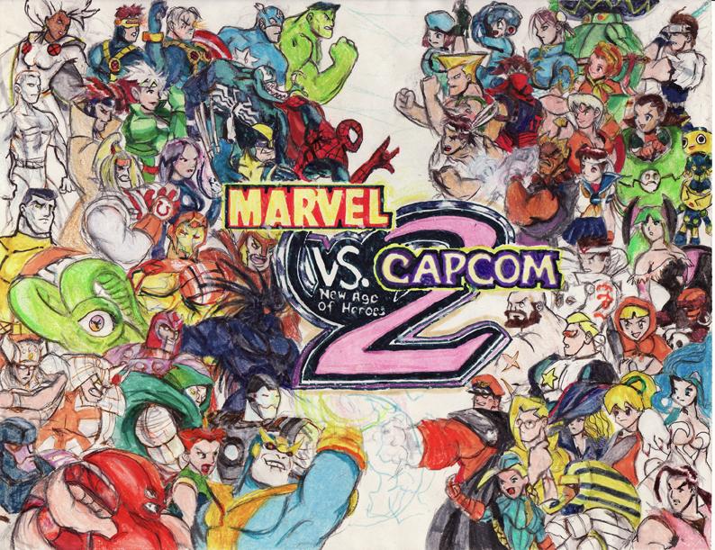 Marvel vs Capcom 2 by viperxmns on DeviantArt