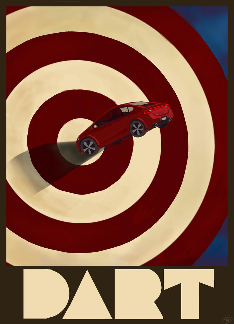 Dart Poster by viperxmns