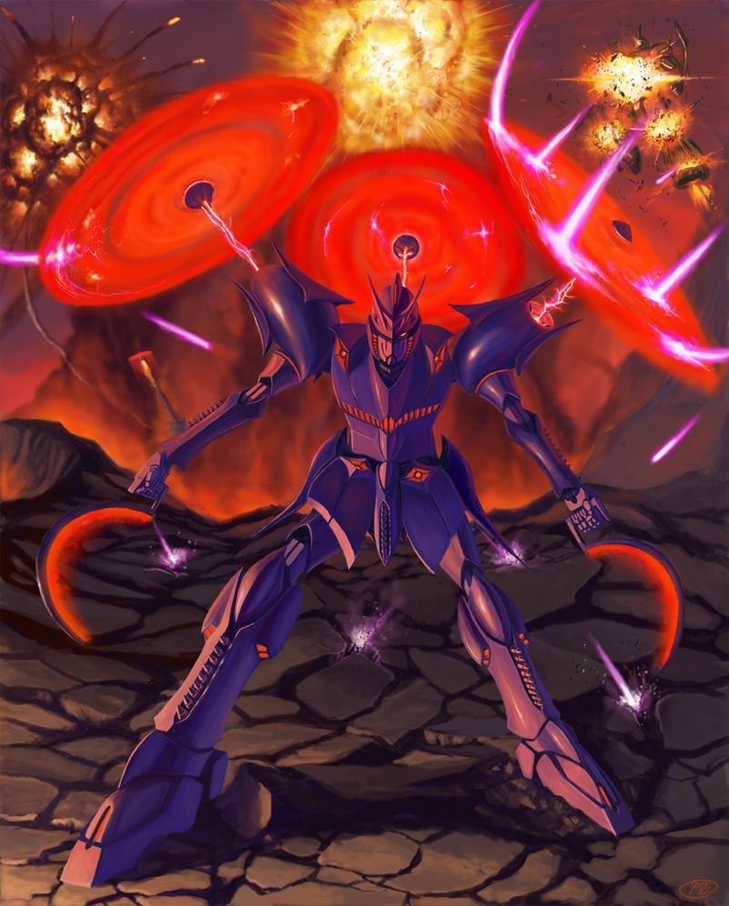 Gundam Hades Mk. II by viperxmns