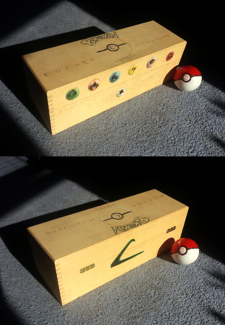 Vintage piece: Pokemon Card Box by viperxmns