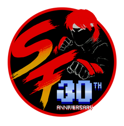 Street Fighter 30th Tribute logo Classsic Edition by viperxmns