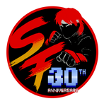 Street Fighter 30th Tribute logo Classsic Edition