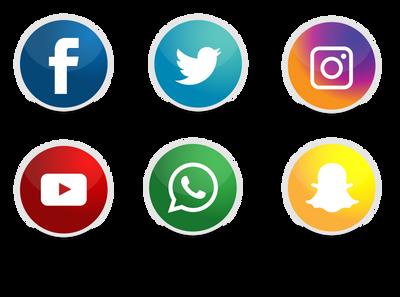 Icons Social Networks by Gazlan-Sahmeiy