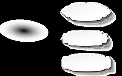 Blank white paper labels by Gazlan-Sahmeiy