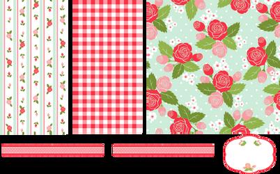 Floral Pattern by Gazlan-Sahmeiy