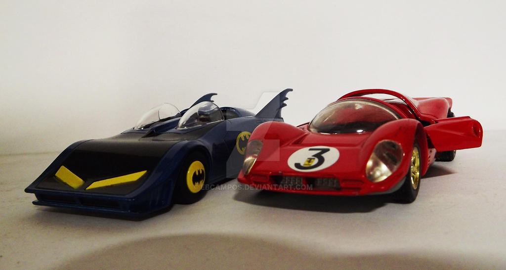 Batmobile Ferrari By Ebcampos On Deviantart