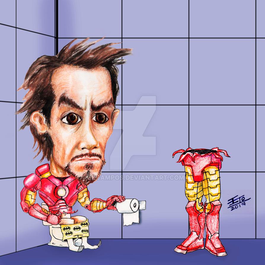 Tony Stark loves Batman by ebcampos
