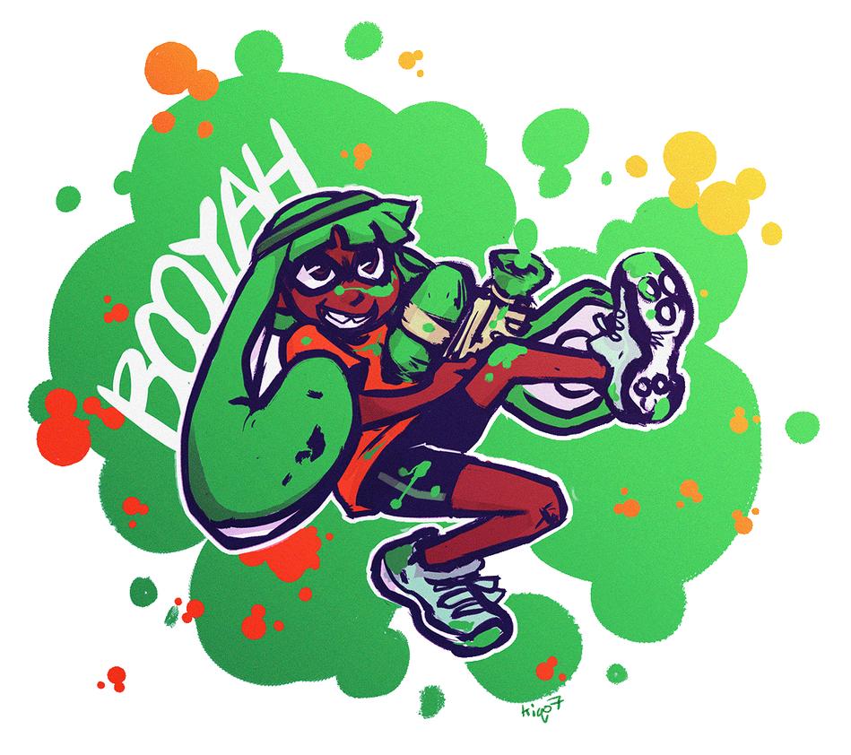 Splat Break! by Kiqo7