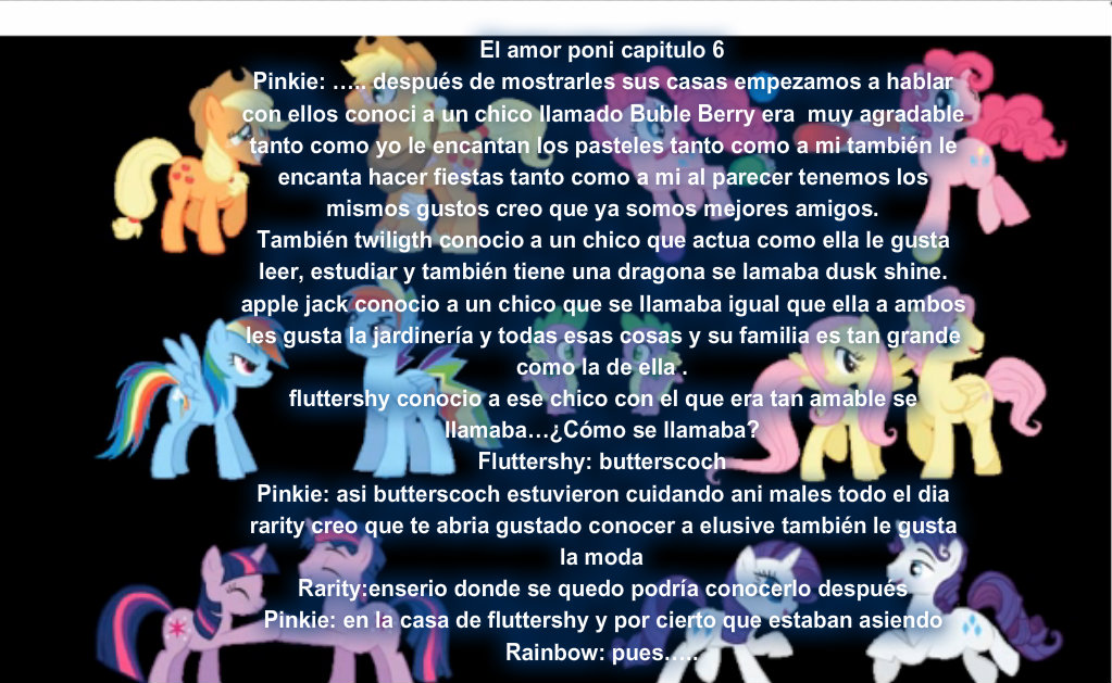 El amor poni capitulo  6 by Rainbow-Liz