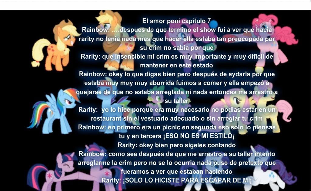 El amor poni capitulo  7 by Rainbow-Liz
