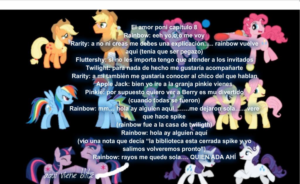 El amor poni capitulo 8 by Rainbow-Liz