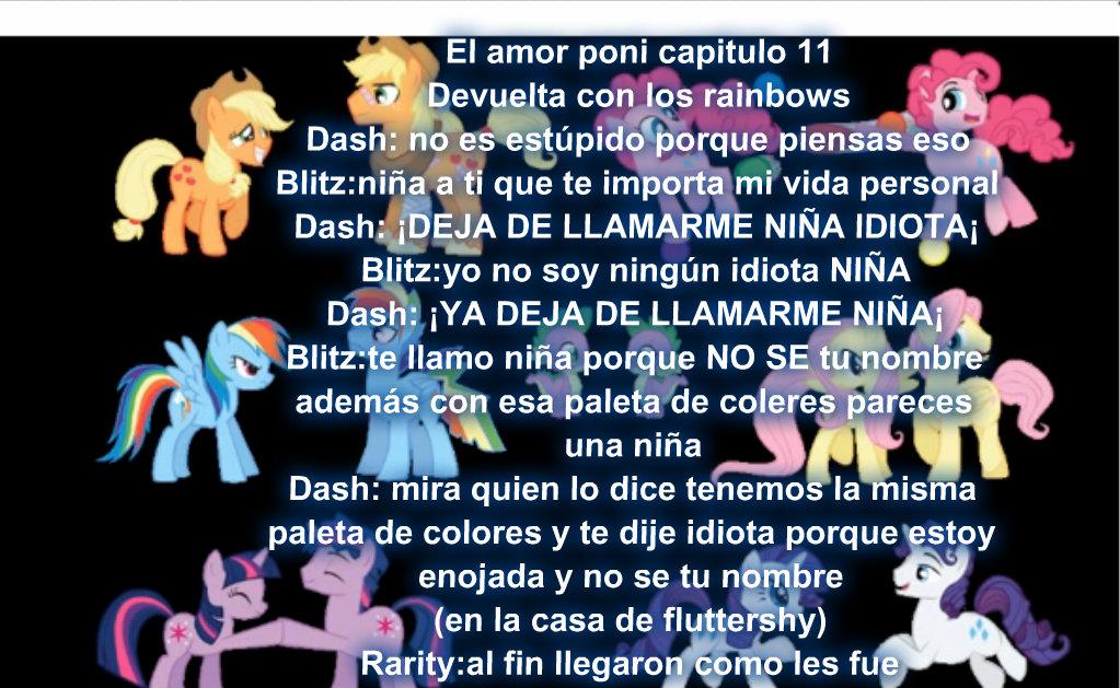El amor poni capitulo 11 by Rainbow-Liz