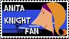 Anita Knight Fan Stamp by VictorVoltfan1