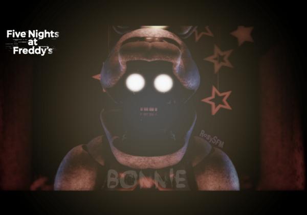 Bonnie FNAF 1 by RosySFM