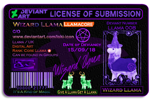 ID Wizard Lllama by Loki-Icon