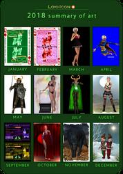 Loki-Icon 2018 summary of Art by Loki-Icon