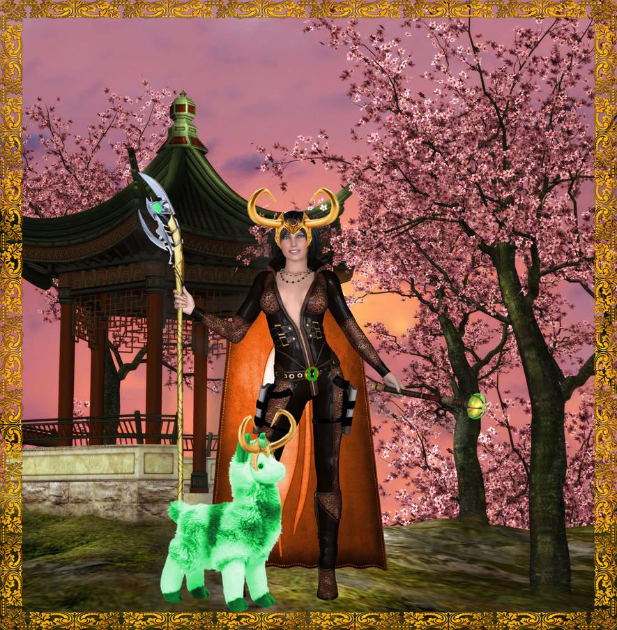 Loki and Llama Spring