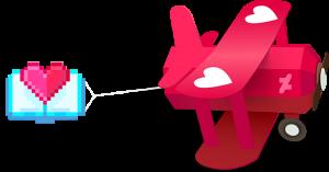 Valentine's Badge