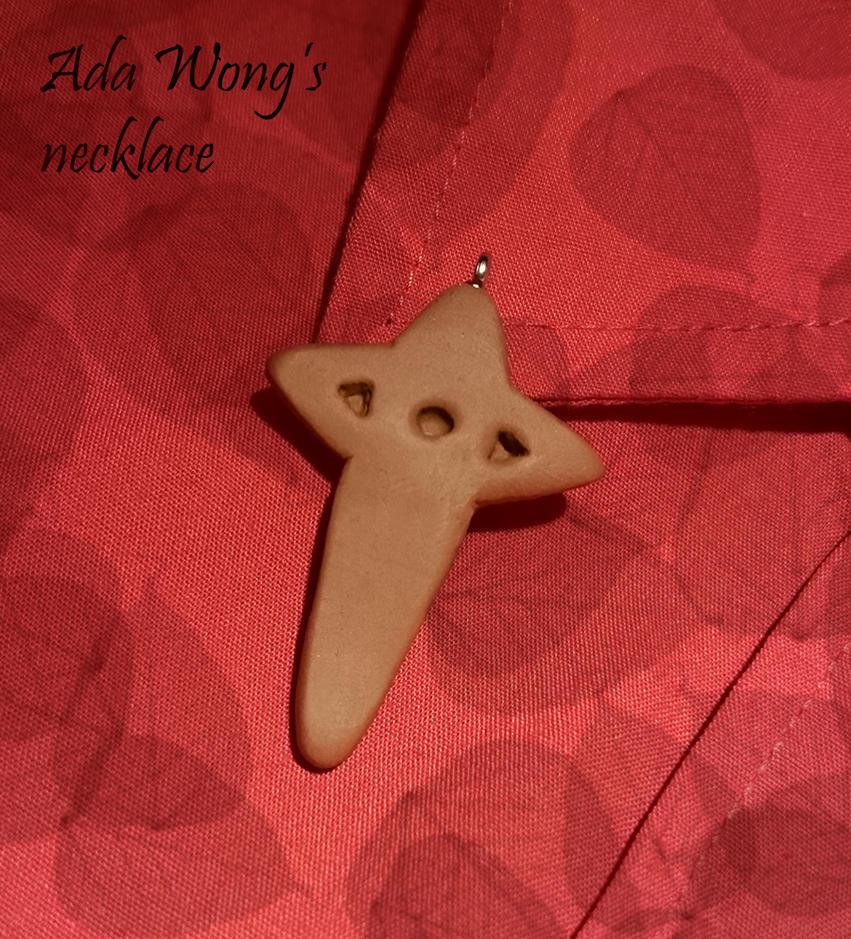 Ada Wong's necklace by YumeNoJidai