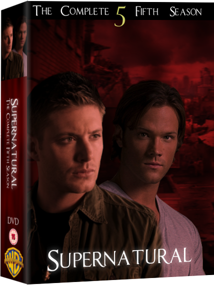 Supernatural dvd cover by xcharmedfanx