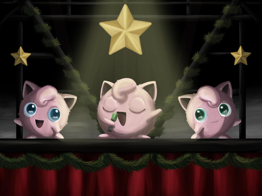 Jigglypuff Christmas Concert by Gajia