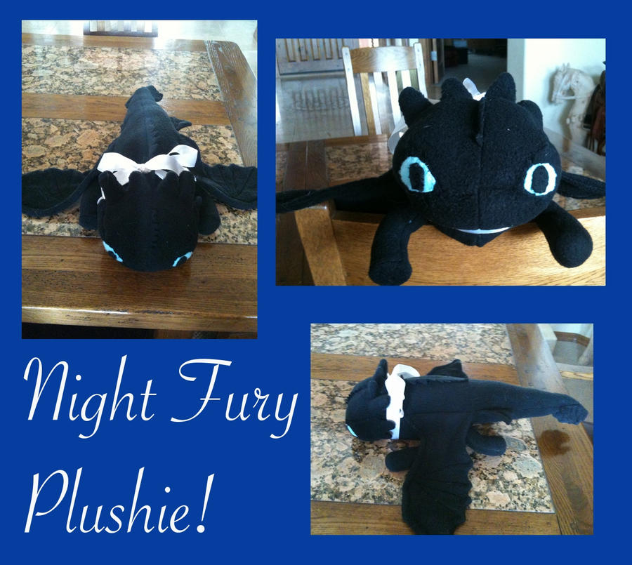 how to make a toothless plush