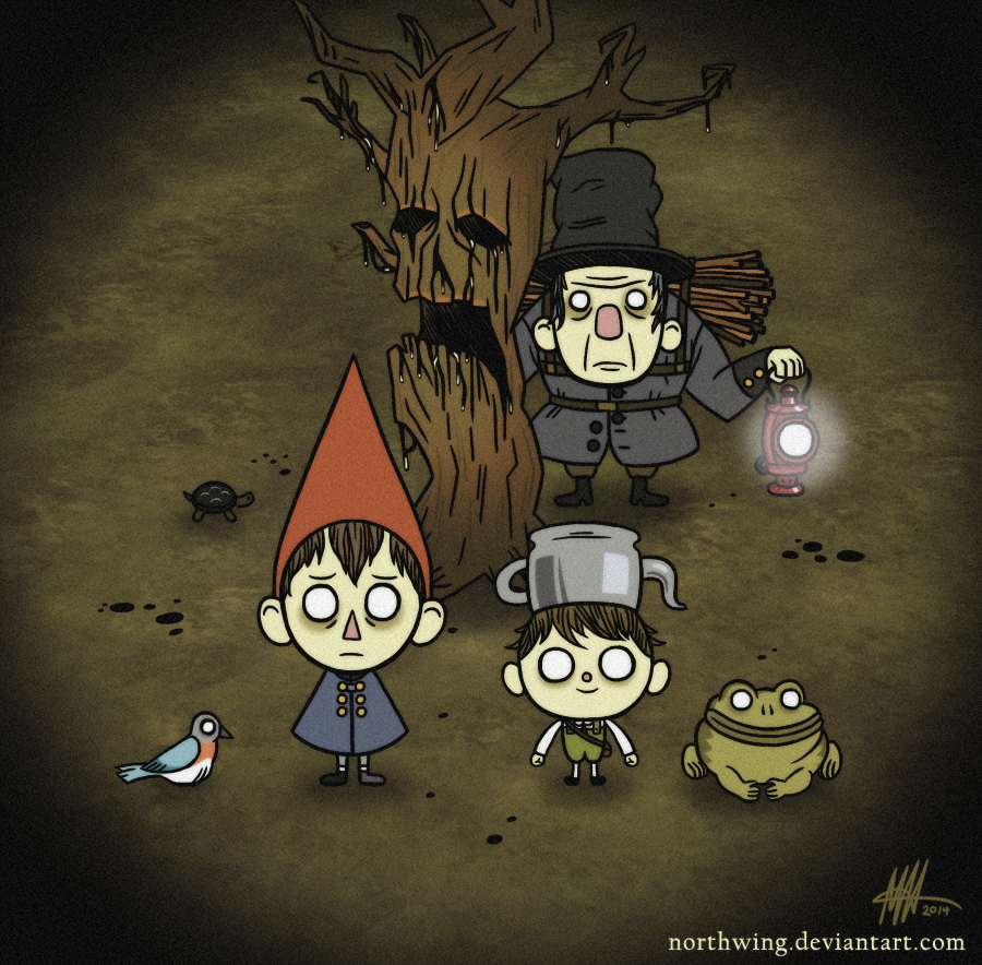 Over The Garden Wall Don 39 T Starve By Northwing On Deviantart