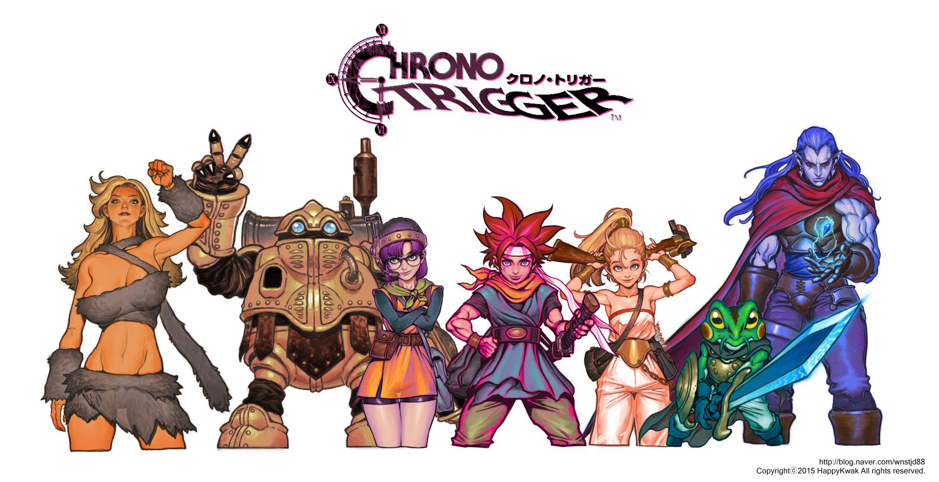 Chrono Trigger by happykwak