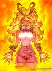 Flame Lady by happykwak