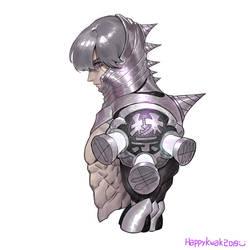 Iron hedgehog _ Happykwak by happykwak