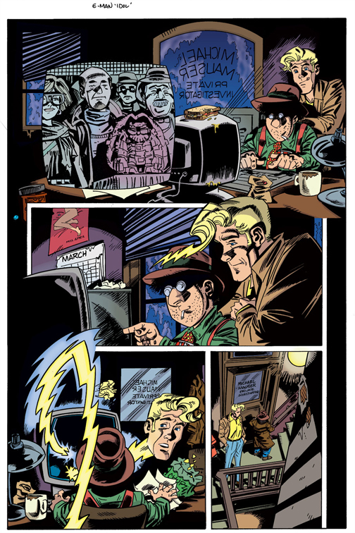 E-Man Idol  pg5 colors by Talandir