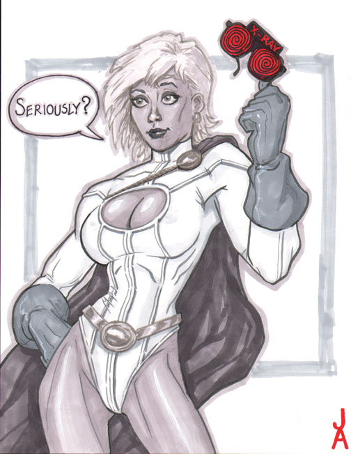 Powergirl, Seriously? by Talandir