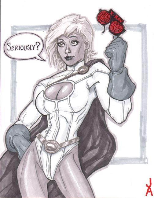 Powergirl, Seriously? by Talandir
