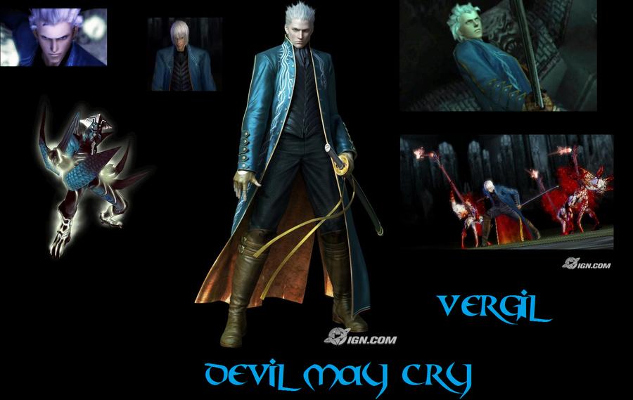 Devil may cry-Vergil by supernaturalsamVergil Devil May Cry 1