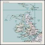Britannia   Map Plate no. 1   Atlas Altera