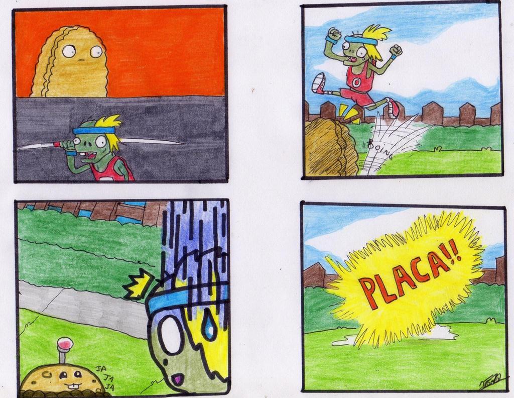 Plants vs zombies comic 2 por fede by ezequielsosa