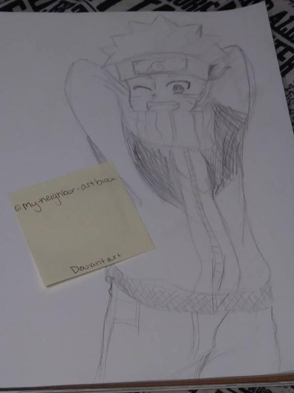 Naruto Sketch ~ by my-neighbor-artblock