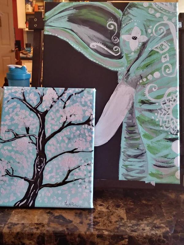 Paintings ~ by my-neighbor-artblock