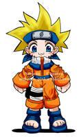 Naruto with Goku Hair
