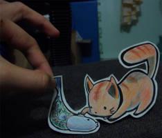 Cat's fish by Arthemis-Pink