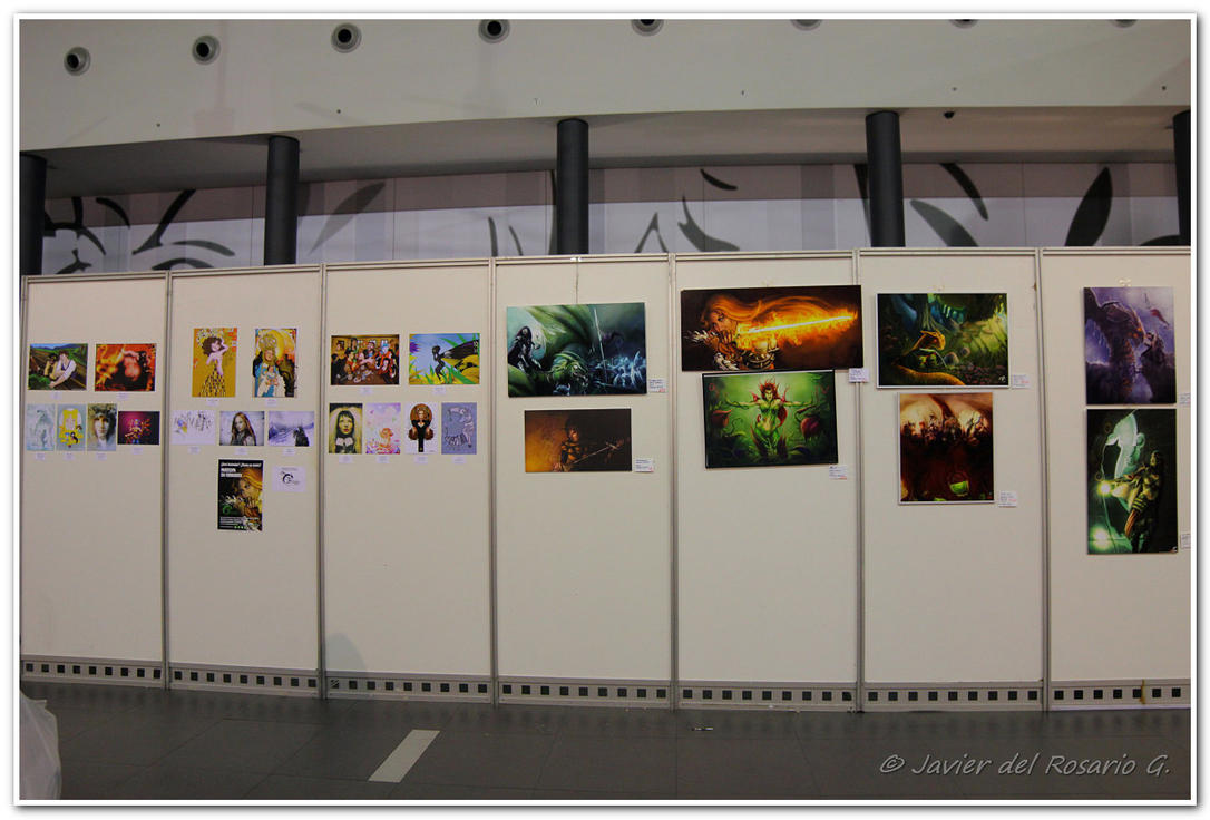 Ilustraciones salon comic Alicante 2014 by Khaotico