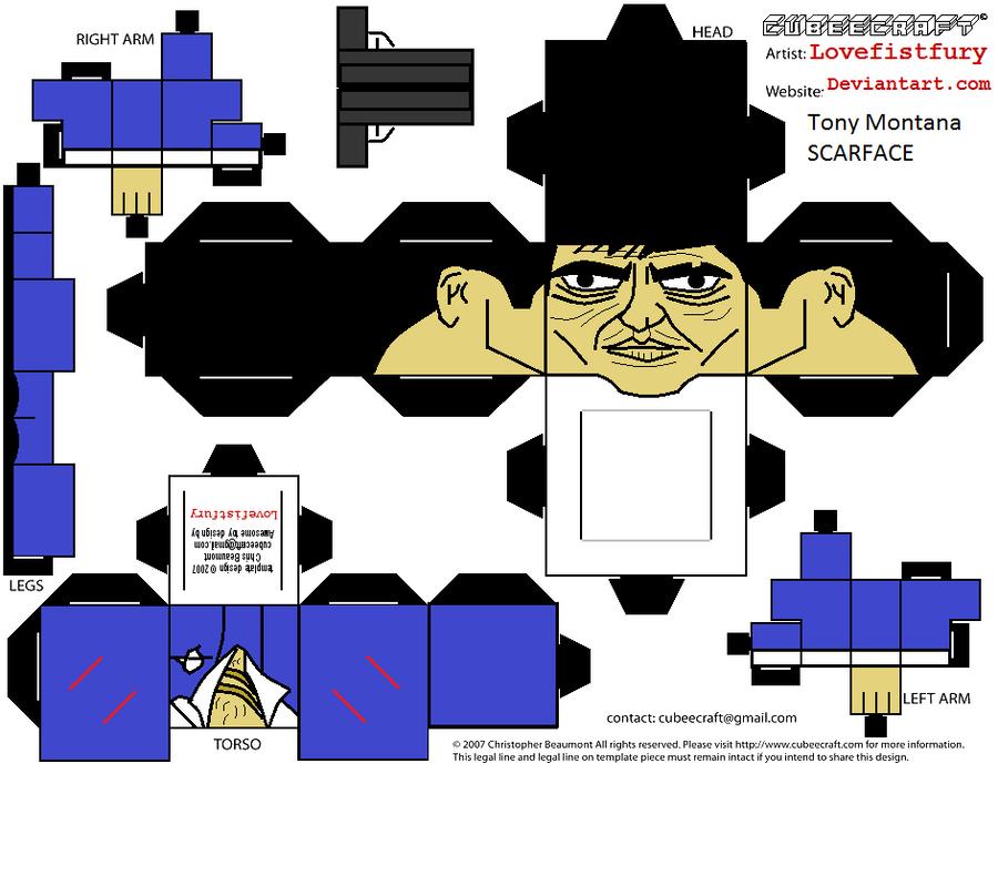 Tony Montana Blue Suit Shoes