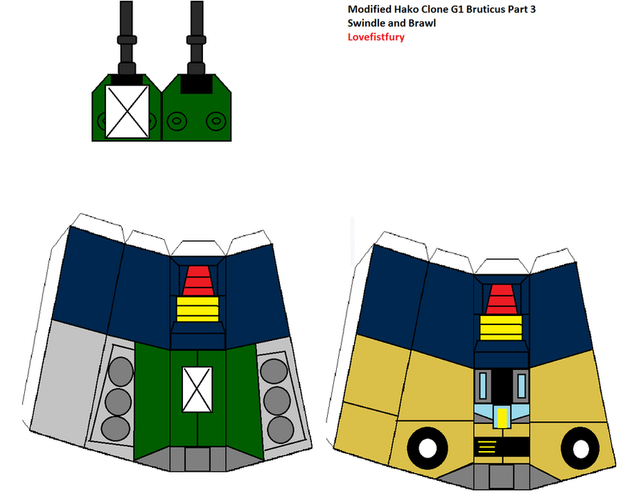 G1 Bruticus modifed Hako clone part three by lovefistfury